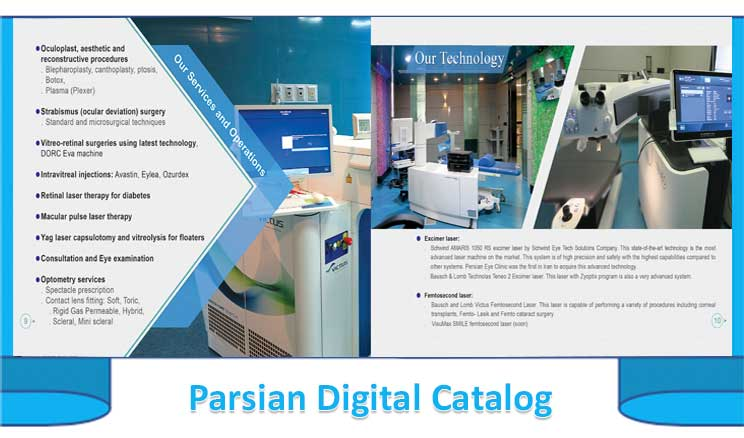 Catalog Parsian